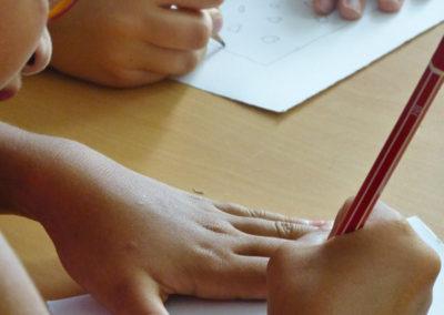 Atelier croquis des détournements artistiques imaginés par les enfants.