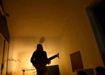 Concert de Jozef Van Wissem à la Maison Salvan.