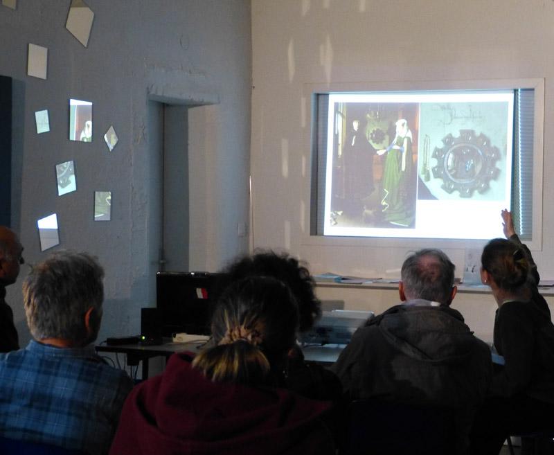 Conférences 2015-2016: unregardsurl'art adossé àl'exposition, parMarionViollet