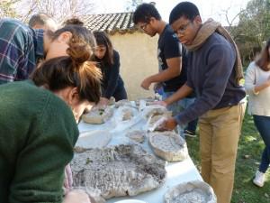 Workshop de Linda Sanchez avec les étudiants de l'école ECRAN de Labège.