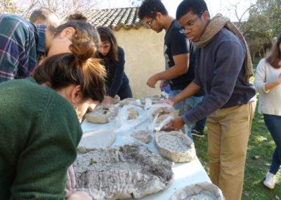 Workshop de LindaSanchez avec lesétudiants de l'école ÉCRAN deLabège