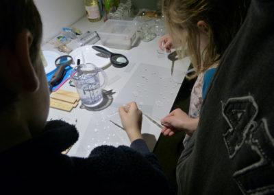 Atelier découverte « mise en scène de la matière ».