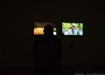 Vernissage de l'exposition «Hors la foule» de Yeondoo Jung dans le cadre du festival Made in Asia.