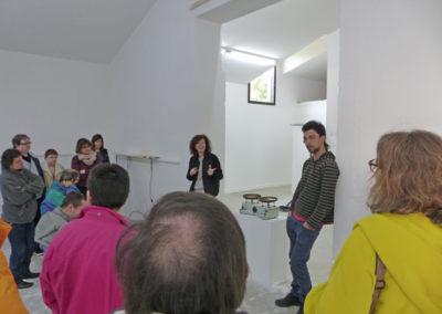 Rencontre des adultes de l'ESAT et de l'ASEI avec Denise Bresciani et Ilias Liosatos en résidence.