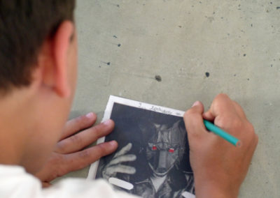 Atelier scolaire «Effacer c'est créer».
