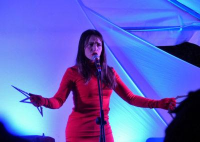 Mathilde Fernandez en concert.