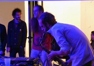 Nibul en concert.