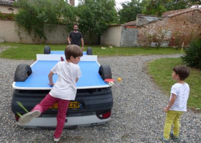 «La voiture ping-pong» de Benedetto Bufalino.