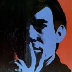 Self portrait, Andy Warhol, 1967.
