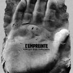 """Couverture du catalogue de l'exposition """"L'Empreinte : main droite de Picasso""""."""