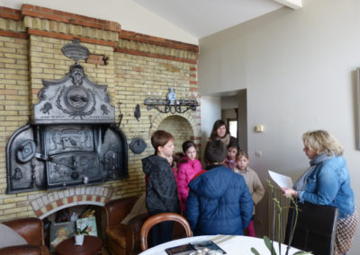8 mars 2016 : Rencontre avec Mme D'Ambrosio Claudine, et visite de l'ancien four de la boulangerie chez elle.