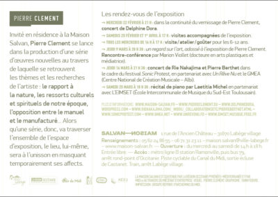 Flier «Keep your master channel sync'd with your master channel». Conception graphique : Yann Febvre.