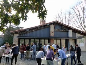Workshop de Pierre Clement avec les étudiants de l'école ECRAN de Labège.