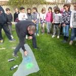 Rencontre-atelier avec les enfants de la classe de Ce1 de l'école de Labège et Pierre Clement.