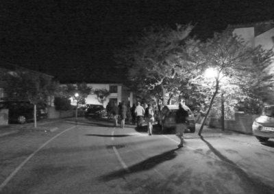 Marche nocturne à l'écoute de Labège, 21 avril 2017.