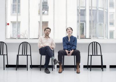 Éloïse Decazes et Éric Chenaux.