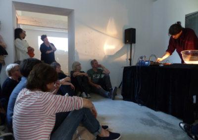 Concert Gil Delindro, Week-end de l'art contemporain du réseau Pinkpong.