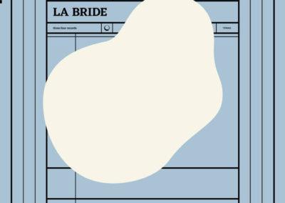 «La bride», Éloïse Decazes et Éric Chenaux.