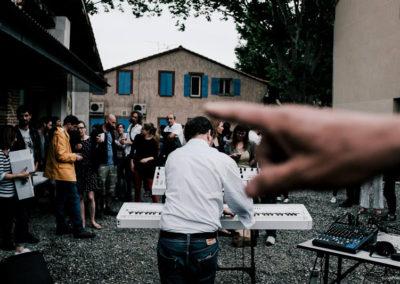 Vernissage de l'exposition «entre les gens».