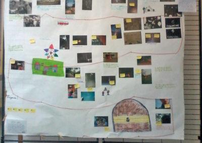 Projet 2016 «Derrière l'image» à partir de l'exposition «casa tomada».