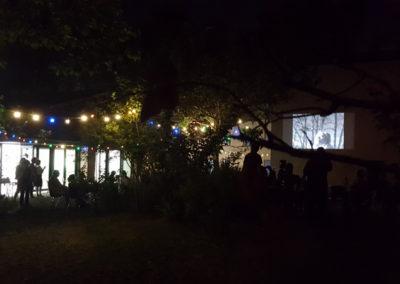 Soirée de clôture de l'exposition «entre les gens», 5 juillet 2017.
