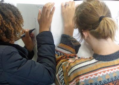 Atelier au Collège de Grenade le mardi 6 juin.