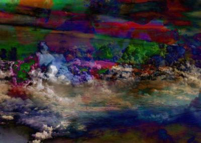 «La disparition des cirrus» par Agathe David.