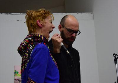Performance de Charles Robinson et de Marta Izquierdo Munoz.