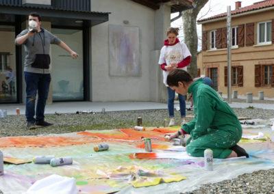 Workshop avec Flora Moscovici pour les MANAA de l'école ÉCRAN.