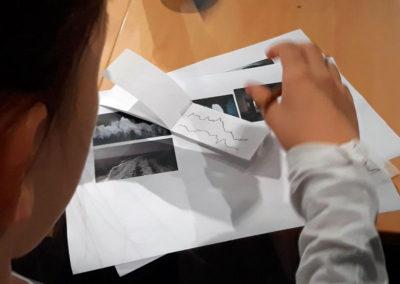 """""""Rendez-vous des familles"""" pour l'exposition d'Ange Leccia, 2018."""