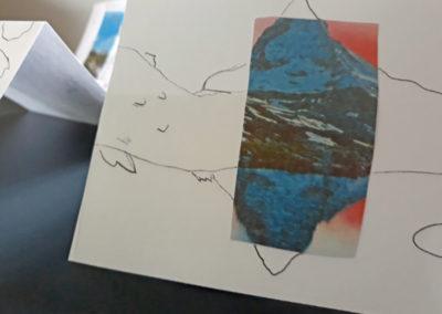 """Atelier image composite autour de l'exposition de David Coste, """"Une montagne(s)"""", 2019."""