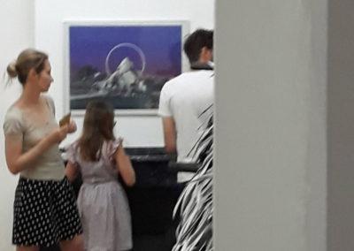 """""""Rendez-vous des familles"""" pour l'exposition de David Coste, """"Une montagne(s)"""", 2019."""