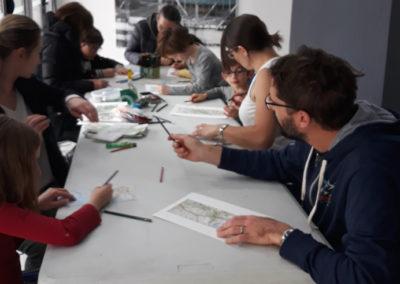 Le « Rendez-vous des familles », découverte ludique des œuvres et atelier artistique !