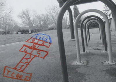 Projet «Passages - Pas sages» avec l'ALAE de l'école élémentaire de Labège.