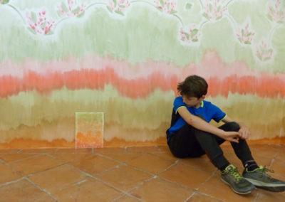 L'atelier « Coma Coloris Vif ».