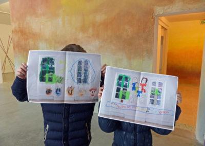 Des médiations de l'exposition « Coma Coloris Vif »