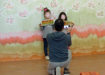 """""""Rendez-vous des familles"""" pour l'exposition de Flora Moscovici, 2018."""