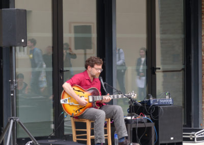 Concert d'Éric Chenaux à la Maison Salvan.