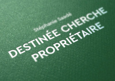 Stéphanie Saadé, «Destinée Cherche Propriétaire»