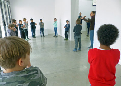 Rencontre et échanges avec les élèves d'une classe de Labège.
