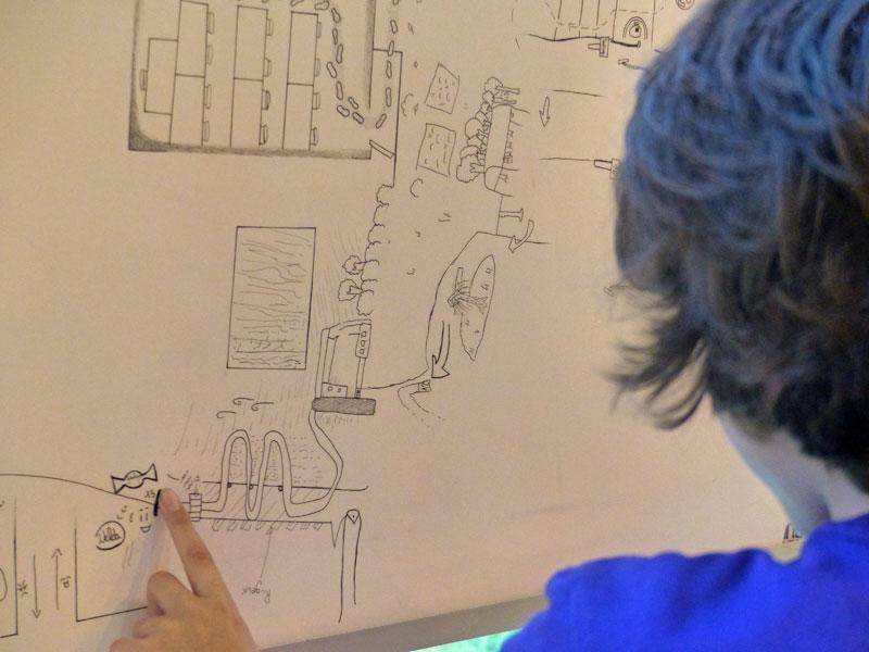 « Laps d'espace », le collège Sainte-Famille de Labège et l'artiste Claire Sauvaget