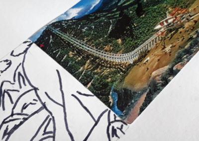 Atelier autour de l'exposition de David Coste, Une montagne(s), 2019