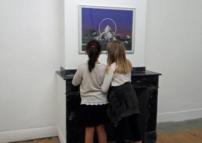 Visite enquête autour de l'exposition de David Coste, Une montagne(s), 2019