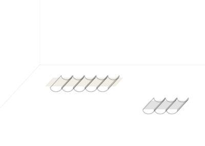 © Nicolas Doche, dessin préparatoire du projet « Interieur-01 » pour l'exposition « Titres à venir » à la Maison Salvan.