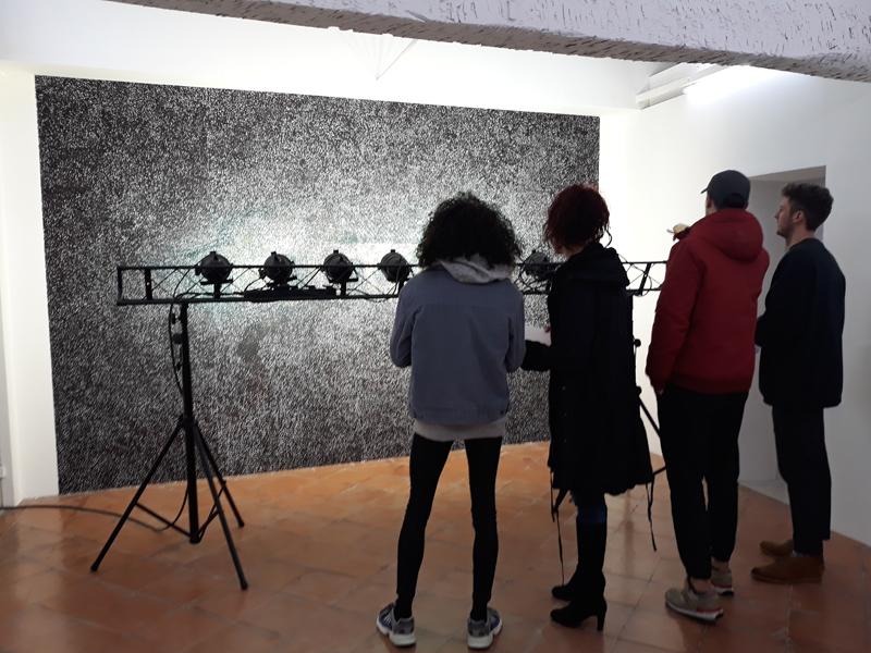 Des médiations de l'exposition « Le stock et le flux »