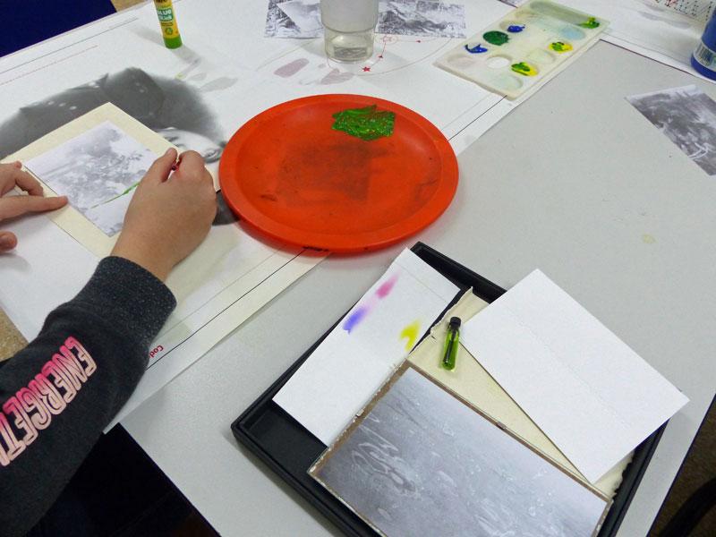 Atelier art et science, en partenariat avec Délires d'encre