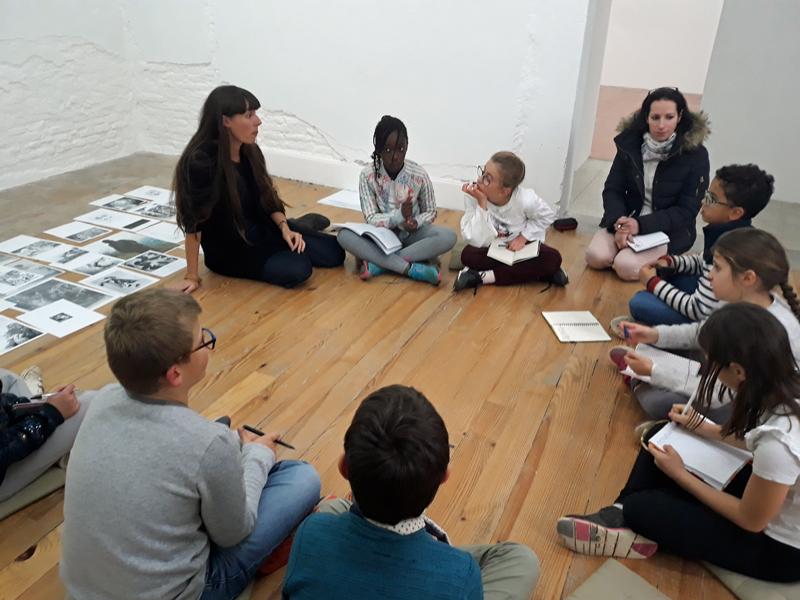 « Dans les coulisses de la Maison Salvan », projet avec l'ALAE de l'école élémentaire de Labège
