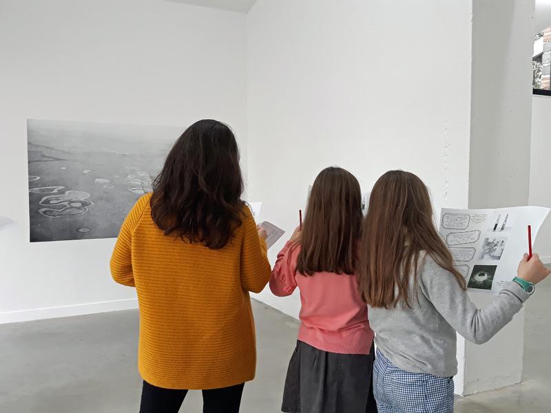 La médiation et l'accueil des publics lors de l'exposition « Archives sauvées des eaux »